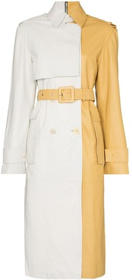 Remain Pirello sheepskin trench coat