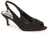 J. Renee Women's 'Impuls' Crystal Embellished Slingback Pump