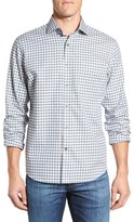 Maker & Company Men's Tailored Fit Check Sport Shirt