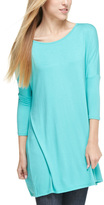 Deep Mint Drop-Shoulder Dress