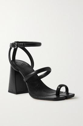 Maison Margiela Split-toe Leather Sandals - Black