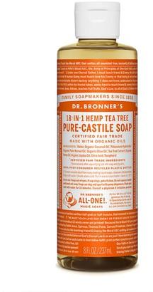 Dr. Bronner's Organic Tea Tree Castile Liquid Soap 237Ml