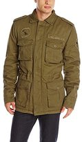 Alpha Industries Men's M-65 Altimeter Field Coat with Faux Sherpa Lining