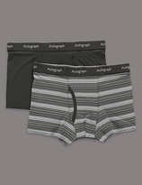 Autograph 2 Pack Stretch Assorted Trunks