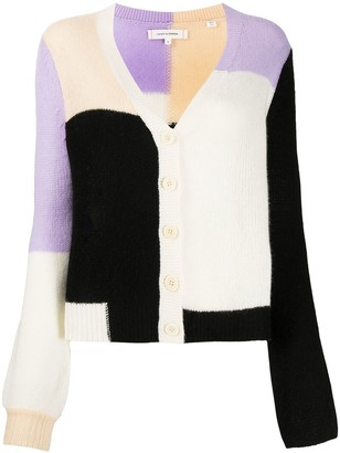 Chinti and Parker Colour-Block Knit Cardigan