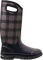 Bogs Women's Classic Tall Winter Plaid Waterproof Winter & Rain Boot