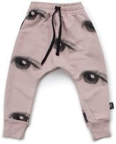 Nununu Girl's Eye Baggy Pants - Powder Pink