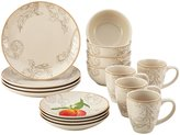 Paula Deen Stoneware Dinnerware Set - Orchard Harvest - 16 pc