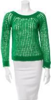 Vanessa Bruno Open Knit Scoop Neck Sweater