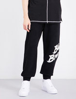 Blood Brother Logo-print cotton-jersey jogging bottoms