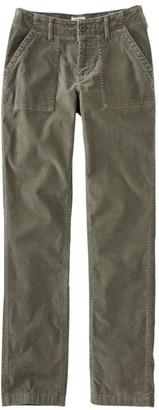 L.L. Bean Women's Soft-Washed Utility Corduroy Pants