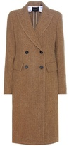 Isabel Marant Danki alpaca and virgin wool coat