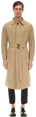 Neil Barrett Fine Military Bonded Trench Coat