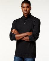 Sean John Men's Button-Neck Sweater