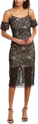Dress the Population Midi Dress