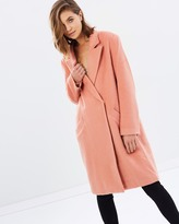 MinkPink Fearless Wool Coat