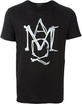 Alexander McQueen AMQ bone T-shirt