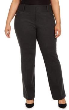 Alfani Plus Size Mid-Rise Pants, Created For Macy's