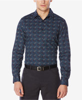 Perry Ellis Men's Big and Tall Exclusive Paisley-Print Shirt