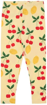 Mini Rodini Printed Organic Cotton Leggings
