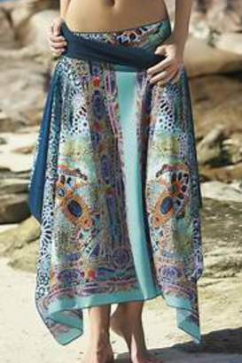 Sunflair Beach Fashion Moroccan Print Cover-Up
