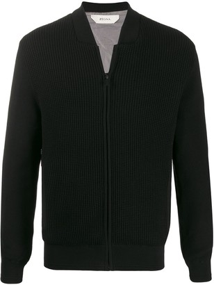 Ermenegildo Zegna Regular-Fit Zip-Up Cardigan