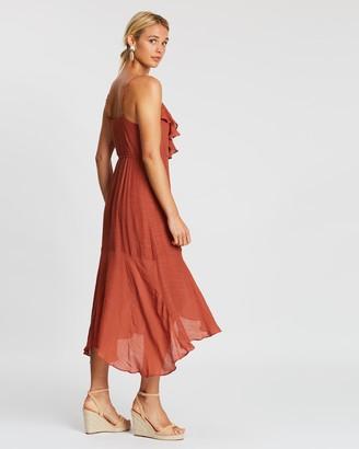 MinkPink Corsage Maxi Dress