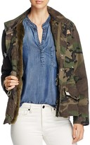 Jocelyn J. Military Camo Fur-Lined Field Jacket - 100% Bloomingdale's Exclusive