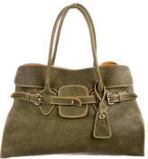 Miu Miu Pebbled Leather Shoulder Bag