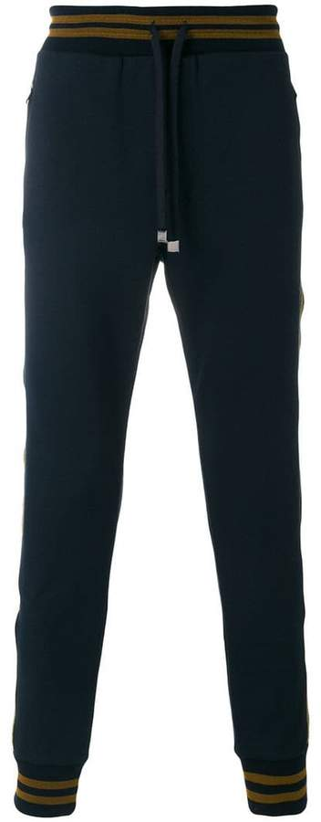 Dolce & Gabbana metallic detail track pants
