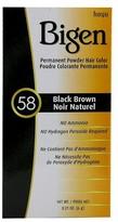 Bigen Hair Color 58 Black Brown