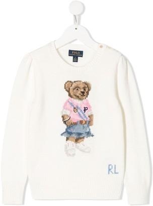 Polo Ralph Lauren Bear Embroidered Jumper
