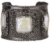 Saachi Athena Cuff With Mother Of Pearl.