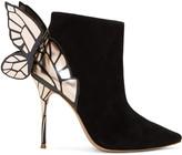 Sophia Webster Black Suede Chiara Boots