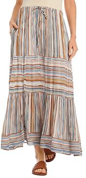 Karen Kane Striped Maxi Skirt