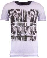 Key Largo PUNCH Print Tshirt lila