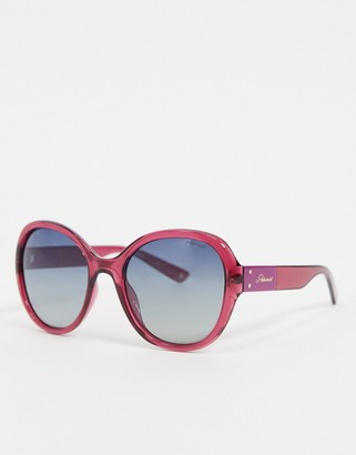 Polaroid oversized style sunglasses