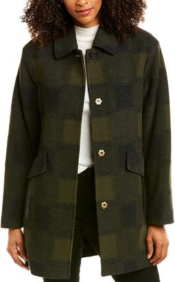 Pendleton Mercer Island Wool-Blend Coat