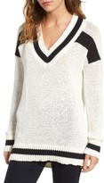 KENDALL + KYLIE Women's Rugby Sweater