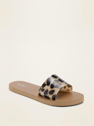 Old Navy Jelly Flip-Flop Slide Sandals for Women