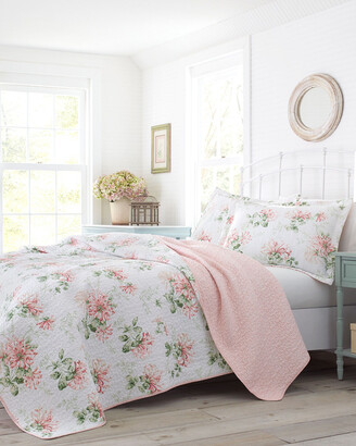 Laura Ashley Honeysuckle Quilt Set