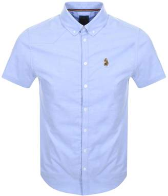 Luke 1977 Short Sleeved Jimmy Shirt Blue