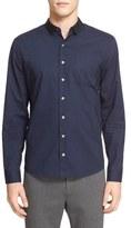 ATM Anthony Thomas Melillo Trim Fit Grosgrain Collar Dress Shirt