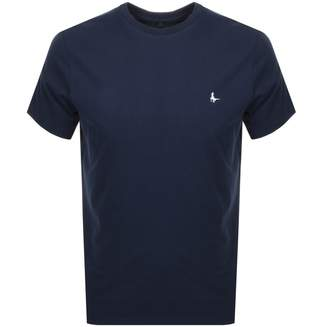 Jack Wills Sandleford Short Sleeved T Shirt Navy