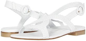 Stuart Weitzman Teodora (Gold Woven) Women's Shoes