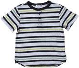 Splendid Printed Striped Henley (Toddler/Kid)-White-4T