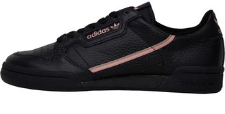 adidas Womens Continental 80 Trainers Core Black/Trace Pink/Copper Metallic
