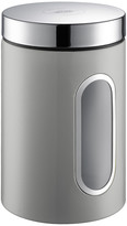 Wesco Kitchen Storage Canister with Window - Cool Grey