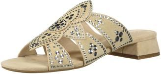 Cecelia New York Women's Martini Slide Sandal Bone 6.5 Medium US