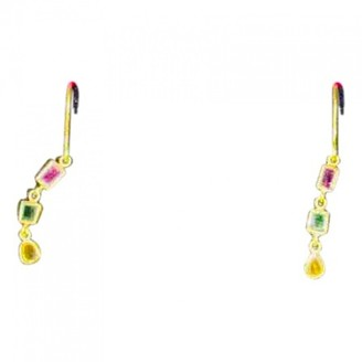 Pippa Small Multicolour Yellow gold Earrings